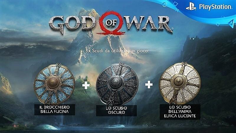 Oggetti digitali esclusivi per la Bonus Edition di God of War disponibile dal 20 aprile su Amazon