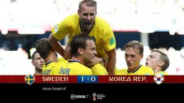 Granqvist segna l'1-0 su calcio di rigore contro la Corea e diventa idolo dei tifosi