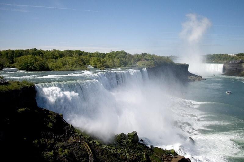 Cascate del Niagara, Canada e USA, Niagara Falls