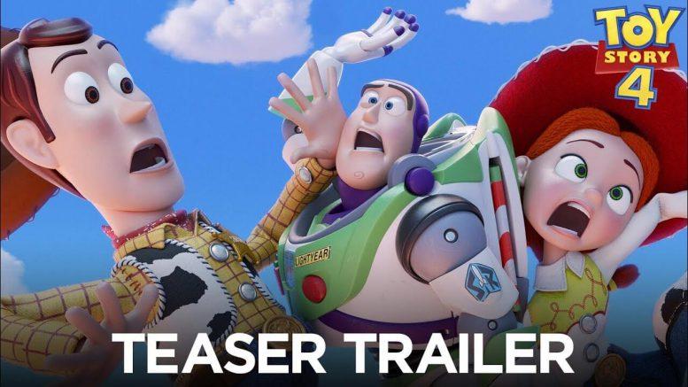 Toy Story 4 teaser trailer del cartone Disney 2019