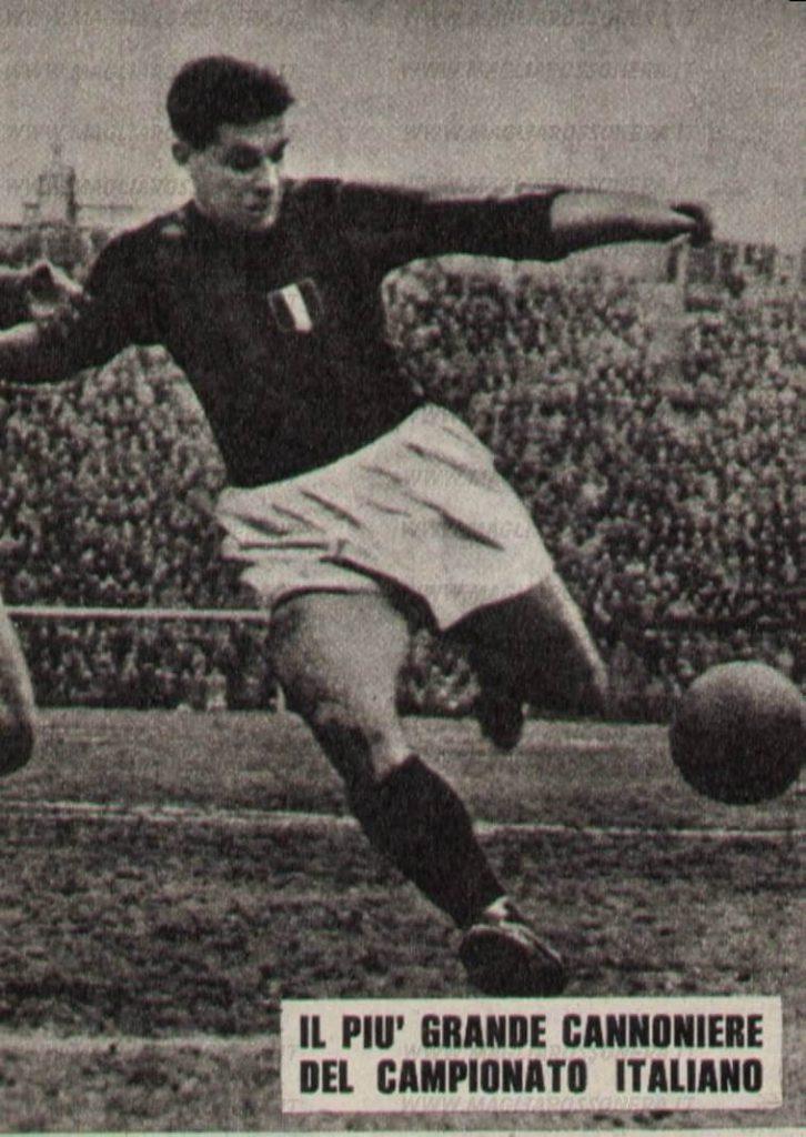 Gunnar Nordahl, il più grande attaccante di sempre? Foto al Milan