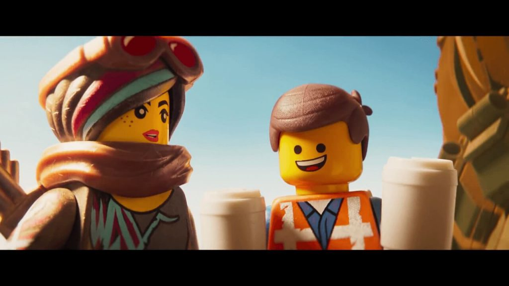 Emmet e Lucy in The lego Movie 2 - screen