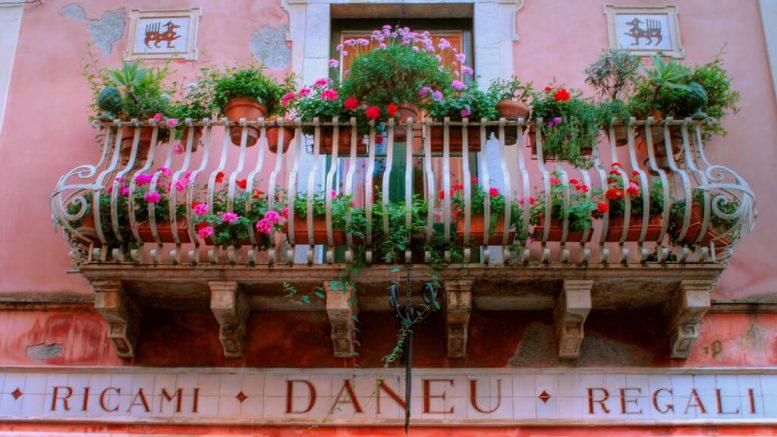 Creare un giardino sul terrazzo