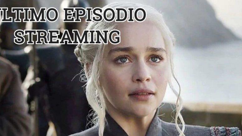 Streaming italiano in HD dell'ultimo episodio del Trono di Spade Stagione 8
