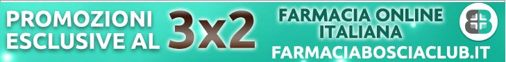 3x2 Bosciaclub - Farmacia online