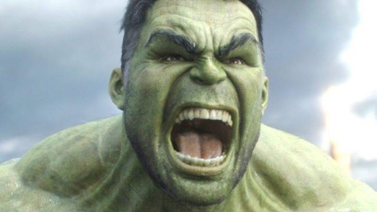 Hulk di colore verde