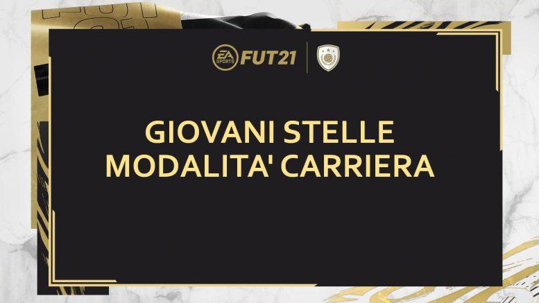 FIFA 21: giovani stelle in modalità carriera